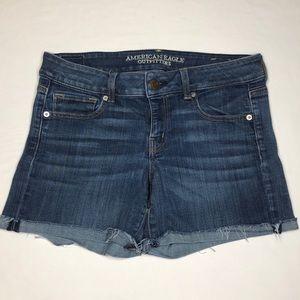 American Eagle Super Stretch Cut-Off Shorts